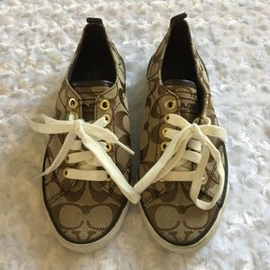 Coach Suzzy Sneakers - EUC - 5 1/2